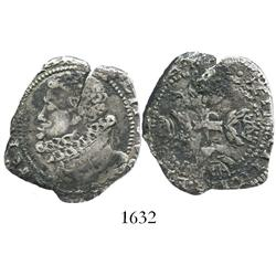 Naples (under Spain), 4 tari, Philip II of Spain.