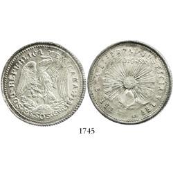 Guerrero (Zapata), Mexico, 2 pesos, 1914.