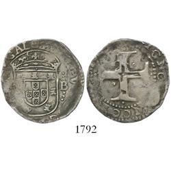 Lisbon, Portugal, tostao, Philip III of Spain (1598-1621).