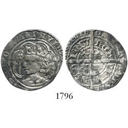 Scotland (Edinburgh), groat, David II (1357-67).