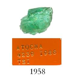 High-quality natural emerald, 1.46 carats.