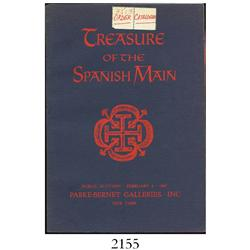 Parke-Bernet Galleries, Inc. (New York). Treasure of the Spanish Main (February 4, 1967), special bi