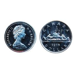 Nickel $1.00.  1975. Specimen-68. Ultra Heavy Cameo.