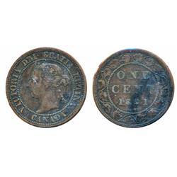 1891. Small Date, Large Leaves.  ICCS Fine-12;  1891. Small Date, Small Leaves.  ICCS Very Fine-30.