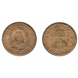1906.  ICCS Mint State-65.  Strong wine red luster.  A gem and a very scarce date.