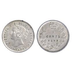 1871.  ICCS Mint State-65.