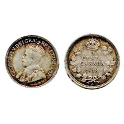 1918.  ICCS Mint State-63.  Medium heavy toning;  1928.  ICCS Mint State-63. Strong strike. Lustrous