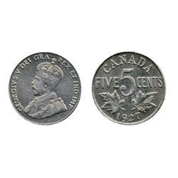 1924.  1927.  ICCS Mint State-62.