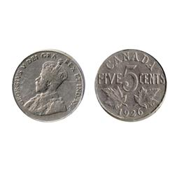 1926. Far 6.  ICCS Very Fine-20.  A middle grade example of the 'key' date.