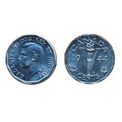 1944, (2 pcs.).  Both ICCS Mint State-65.  Lot of two (2) Gems.