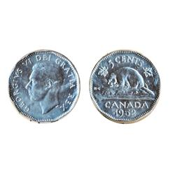 1952.  ICCS Mint State-65.