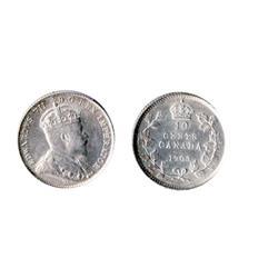 1903.  ICCS AU-55.  A brilliant ten cents piece.