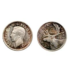 1940.  ICCS Mint State-65.  'Cameo' contrast.