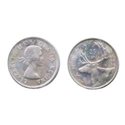 1955.  ICCS Mint State-65.