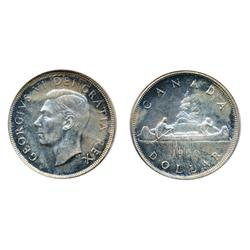 1950.  PCGS graded Proof-Like-64.  Medium toned reflective fields.
