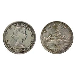 1961.  ICCS Mint State-65.  A rare example in Gem condition.