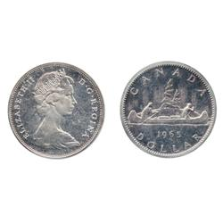 1965. Small Beads. Blunt 5. Type Two.  ICCS Specimen-65.  White, with mirror-like surfaces.