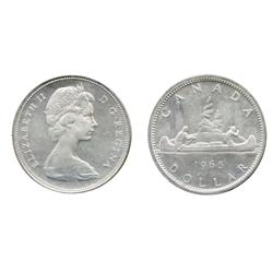 1965. Type Three.  1965. Type Four. 'Cameo'.  Both ICCS Proof-Like-66.