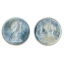 1965. Type Five.  ICCS Mint State-64.  Brilliant.