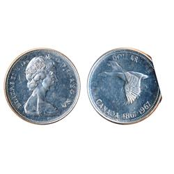 1967. Double-Struck error.  Mint State-60.  Some hairlines.  Lightly toned.