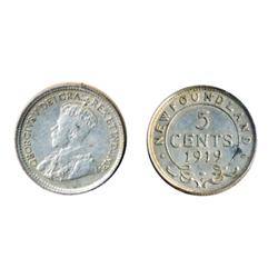 1890.  ICCS Very Fine-30.  Light to medium heavy toning;  1919-C.  ICCS Extra Fine-40.  Brilliant, w