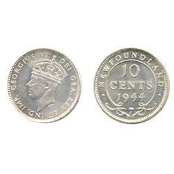 1944-C.  ICCS Mint State-63.  Brilliant and lustrous.