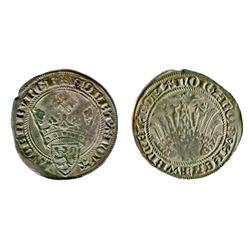 LUXEMBOURG.  Gros Weneceslas II.  1383-1388.  Boud-1873.  Very Fine.