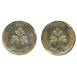 TEST Token.  $1.00.  CH-TT-100.13. (Previously identified as CH-TT-12).  Nickel plated bronze.  Narr