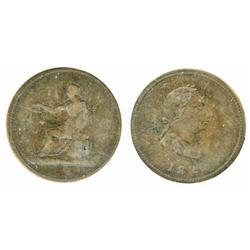 Breton-1011.  LC-57.  1820.  ICCS Fine-12.