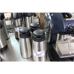 3 COFFEE POTS