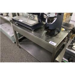 5FT STAINLESS STEEL COUNTER
