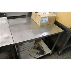 3FT STAINLESS STEEL COUNTER