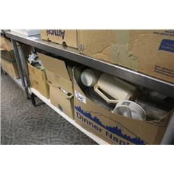 LARGE LOT OF RESTAURANT SUPPLIES