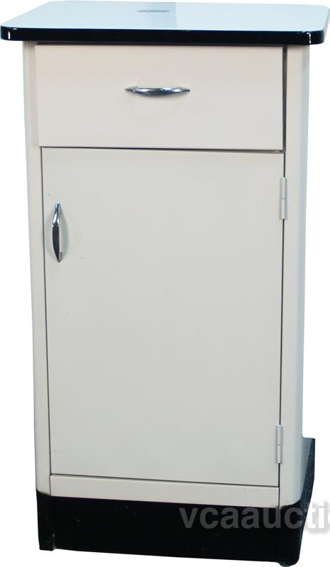 Vintage Metal Kitchen Cabinet C1950 S
