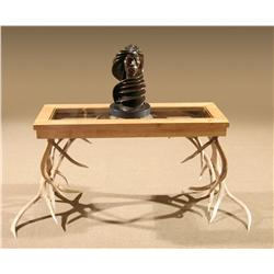 Elk Horn Accent Table