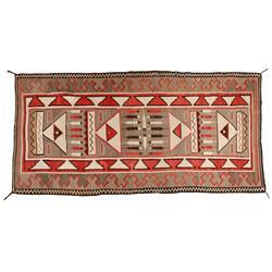 Navajo Teec Nos Pos Weaving, 1920s, 129 x 62