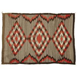 Navajo Weaving, 68 x 48, circa 1930