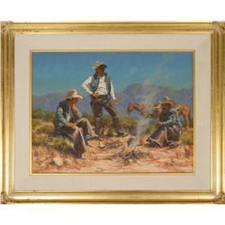 Harold Lyon, oil on canvas