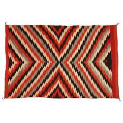 Navajo Transitional Blanket, 76 x 50, circa 1890s