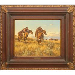 Steven Lang, oil on canvas