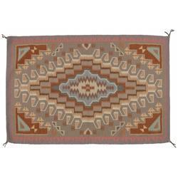 Burnwater Navajo Textile, 1980s, 54 x 36