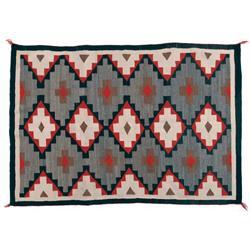 Navajo Weaving, 60 x 49, Stains in one corner