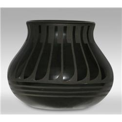 San Ildefonso Pot by Blue Corn