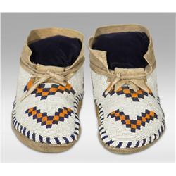 Blackfoot Moccasins, circa 1910-1920
