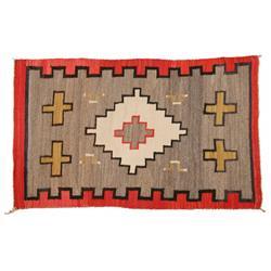 Navajo Weaving, 72 x 44, circa 1900