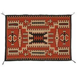Navajo Textile, 64 x 45, circa 1940