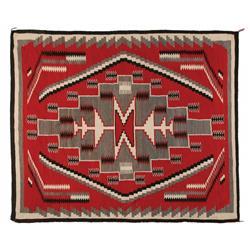 Navajo Weaving, 80 x 68, 1970s