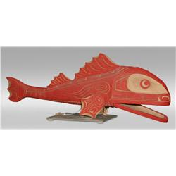 Andy Bruce, Northwest Coast Red Snapper Carving