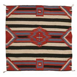 Navajo Weaving, Transitional 3rd Phase Chiefs Pattern, 38 ½ x 44, circa 1910