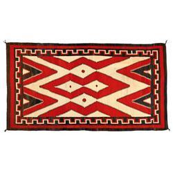Navajo Weaving, 117 x 65, circa 1930s